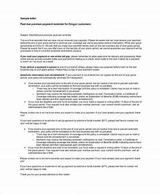 Letter For Final Payment Free 9 Sample Final Notice Letter Templates In Pdf Ms Word