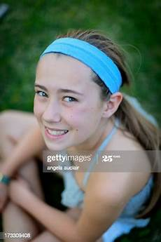 Younger Teens Young Girl Stock Photo Getty Images