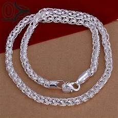 Designer Sterling Silver Necklaces Aliexpress Com Buy New Design Wholesale Silver Plated