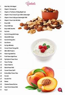 How To Gain Weight By Food Chart The Ultimate Guide To Healthy Weight Gain In Babies And