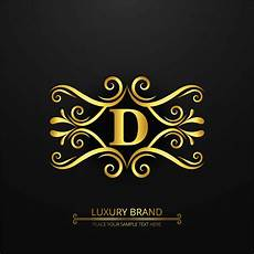 abstract luxury brand logo background free