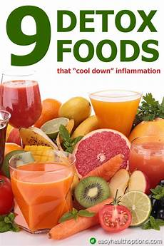nine detox foods that cool inflammation
