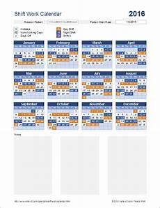 Work Shift Calendar Template Shift Work Calendar For Excel