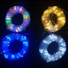 Solar Rope Lights 12m 100leds Solar Led String Lights Outdoor 4 Colors Rope