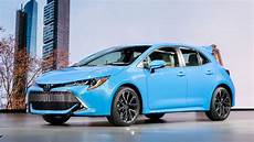 2019 toyota corolla hatchback why the 2019 toyota corolla hatchback with a manual is
