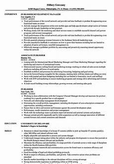 Resume Templates For Publisher Publisher Resume Samples Velvet Jobs