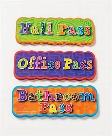 Hall Passes Get Your Classroom Organized With Magnets Dowling Magnets