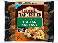 Flame Grilled Italian Sausage   Johnsonville.com