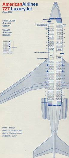 American Airlines 747 Seating Chart American Airlines 727 Seating Chart American Airlines