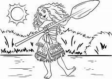 ausmalbilder zum ausdrucken vaiana kinder zeichnen und