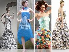 10 dresses made from recycled materials