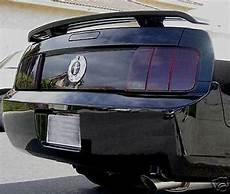 How To Tint Mustang Lights 05 09 Ford Mustang Smoke Light Precut Tint Cover