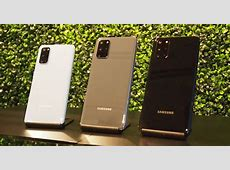 First Look: Samsung Galaxy S20, S20  and S20 Ultra