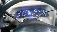 2003 Ford F150 Dash Lights 2002 Ford F250 Multicolor Led Conversion Youtube