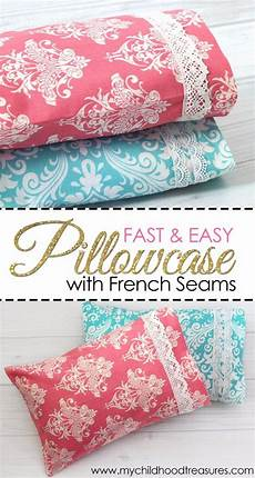 fabric crafts for bedroom 35 diy pillowcases to make for any room pillowcase
