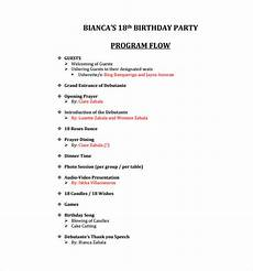 Birthday Party Program 50th Birthday Party Program Template Wallpaperall