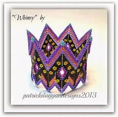 patrickduggandesigns contemporary geometric beadwork