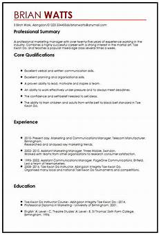 Personal Interest Resume Cv Sample With Interests Myperfectcv
