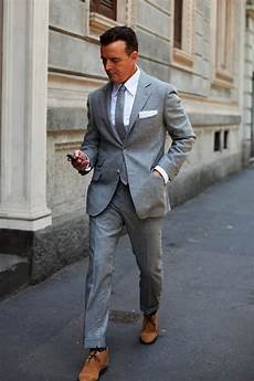 What Color Shirt With Light Gray Suit 50 Ways To Wear A Grey Suit Modern Men S Guide