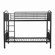 Panana 2 X 3ft Single Metal Bunk Bed 2 by Panana Metal Bunk Bed Splits Into Two 3ft Single Beds
