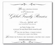 You Have Been Cordially Invited Template Graphics Global Family Reunion