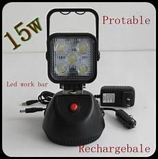 12v Led Magnetic Work Light 15w Work Light Led Portable Led Battery Work Light With