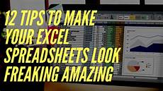 Best Way To Make A Checklist How To Make Your Excel Spreadsheets Look Professional In