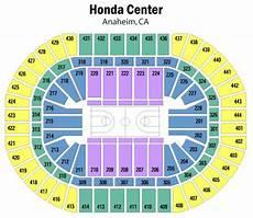 Anaheim Ducks Arena Seating Chart Honda Center Seating Chart Views And Reviews Anaheim Ducks