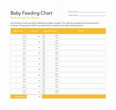 Baby Bottle Flow Chart Free 7 Sample Baby Feeding Chart Templates In Pdf