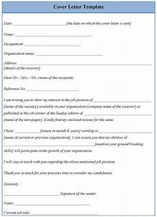Printable Cover Letter Template For Cover Letter Examples Of Cover Letter