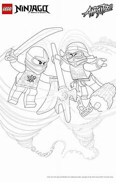 42 coloring pages of lego ninjago mit bildern