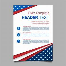 Patriotic Template Usa Patriotic Background Vector Illustration With Text