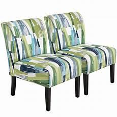 yaheetech 2pcs upholstered single sofa chair modern cloth