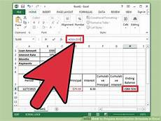 Amortization Formula In Excel How To Prepare Amortization Schedule In Excel 10 Steps