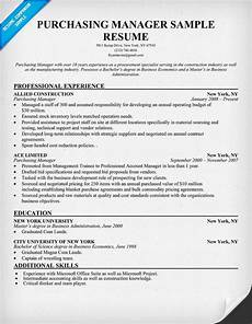 Purchase Agent Resume 12 Procurement Resume Sample Riez Sample Resumes