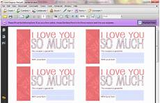 Customized Coupons Free Customizable Printable S Day Coupons