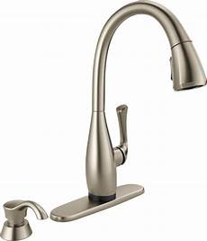 Delta Pull Kitchen Faucet Single Handle Pull Kitchen Faucet With Touch2o