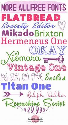 Fun Fonts More Fun Free Fonts Fonts Rose And Studio