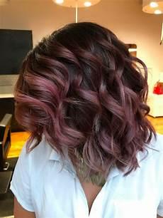 Light Brown Mauve Hair Chocolate Mauve Hair Colour Trend Popsugar Beauty Australia