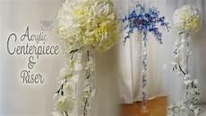 dollar tree wedding shower decorations dollar tree acrylic centerpiece riser bridal shower