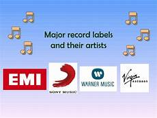 Major Record Labels Music Labels