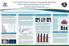 scientific poster samples scientfic poster powerpoint templates makesigns