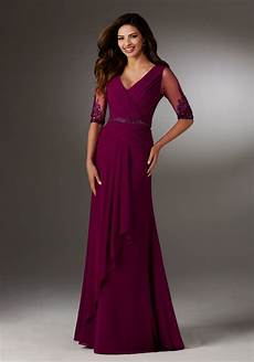 chiffon evening gown style 71514 morilee