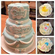 baby shower kager baby shower cake and cupcakes