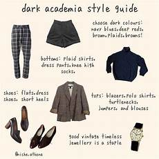 academia style guide monday fashion darkacademia
