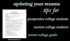 How To Update Your Resume Real College Student Of Atlanta Updating Your Resum 233
