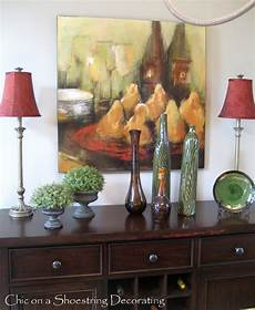 dining room buffet ideas chic on a shoestring decorating dining room buffet revisited