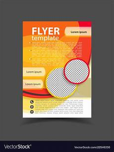 Flyer Templet Brochure Design Flyer Template Editable A4 Poster For