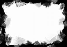 black paint frame png and jpg psdgraphics