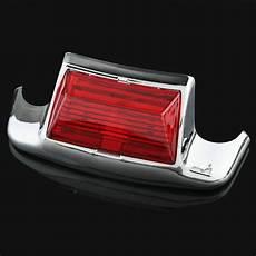 Harley Softail Light New Rear Fender Tip Light Red Lens For Harley Flstc